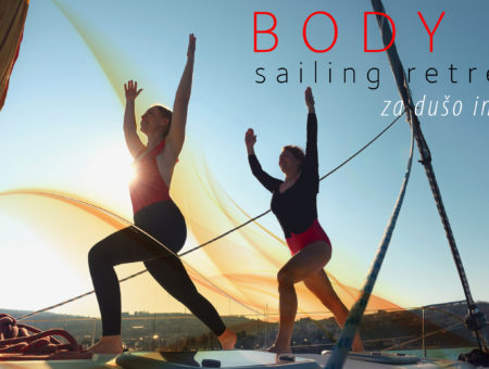 BODY sailing 4-dnevni personalizirani retreat, maj 2019